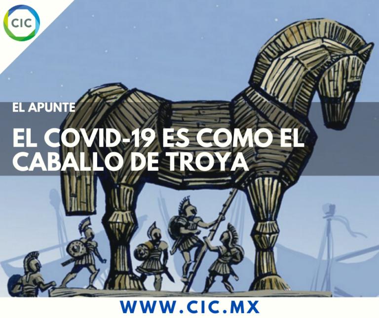 El Covid-19 es como el Caballo de Troya
