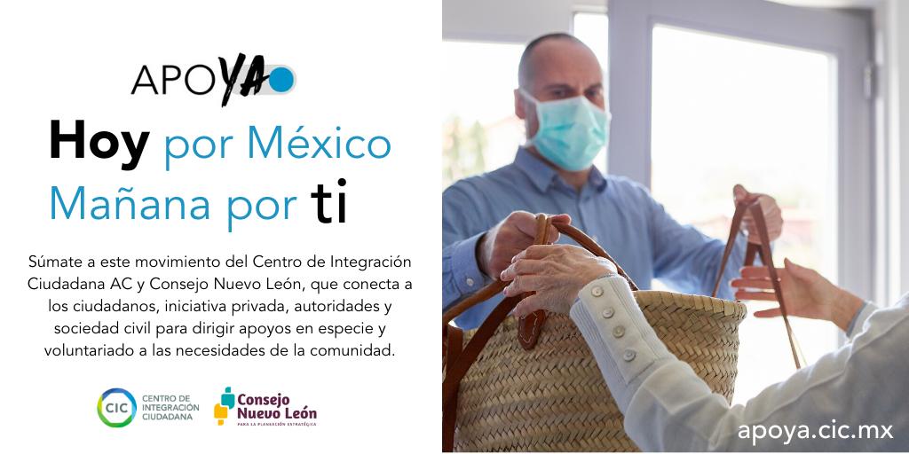 CIC lanza ApoYA para cubrir necesidades en Nuevo León