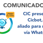 CIC lanza Cicbot para reportar en WhatsApp